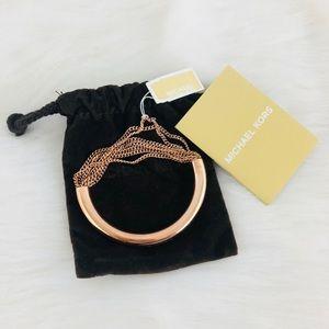 Michael Kors Rose Gold Chain Bracelet